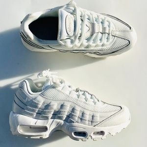 Nike Air Max 95 Premium Triple White Summit White
